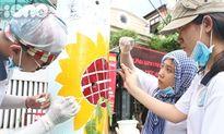 Sinh viên Sài Gòn biến cột điện thành 'cây sống'