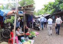 Thành phố Vinh di dời chợ tạm Quán Bàu