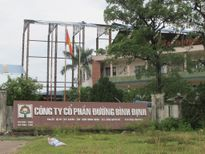 Yêu cầu Cty CP Đường Bình Định khẩn trương khắc phục công tác BVMT