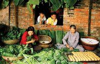 Bao bì lá cây - văn minh thực phẩm Việt