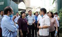 Bộ trưởng Bộ Y tế thị sát phòng chống bệnh sốt xuất huyết tại Hà Nội