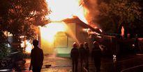 Hà Tĩnh: Cháy quán karaoke, 6 phòng hát bị thiêu rụi