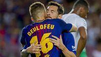 Barcelona 2-0 Real Betis: Lionel Messi vô duyên, Deulofeu rực sáng