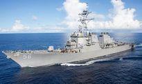 Tàu khu trục Mỹ va tàu hàng gần Singapore, 10 thủy thủ mất tích