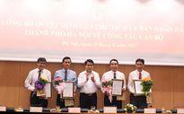 Hà Nội công bố quyết định bổ nhiệm 4 lãnh đạo Sở