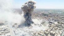 IS tử chiến đến cùng trong chảo lửa Raqqa (video)