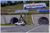 Thông xe Hầm đường bộ Đèo Cả, miễn thu phí đến ngày 3/9