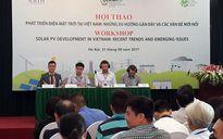 Dư địa phát triển điện mặt trời tại Việt Nam rất lớn