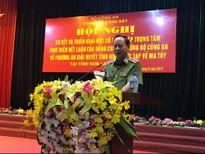 Sơ kết và triển khai giải quyết tình hình phức tạp về ma túy tại Sơn La, Hòa Bình