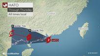 Bão Hato giật cấp 15 đổ bộ đất liền Trung Quốc