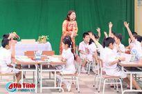 Các trường tiểu học ở Hà Tĩnh không đủ điều kiện tiếp tục duy trì VNEN