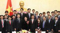 Chủ tịch QH Nguyễn Thị Kim Ngân tiếp đoàn Ban Thanh niên Đảng Dân chủ tự do Nhật Bản
