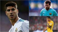 Đội hình xuất sắc nhất vòng 2 La Liga: Messi và Asensio được vinh danh