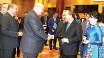 Việt Nam nỗ lực cùng cộng đồng quốc tế phấn đấu vì hòa bình, phát triển thịnh vượng