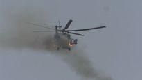 Trực thăng Nga phóng tên lửa, yểm trợ quân đội Syria tấn công IS
