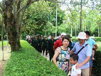 Khu di tích Kim Liên đón hơn 2 vạn du khách trong 2 ngày nghỉ lễ