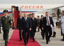 Tổng thống Putin đến Trung Quốc