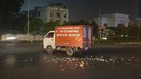 Phóng nhanh trong mưa, nam thanh niên đâm thẳng vào xe tải, tử vong tại chỗ