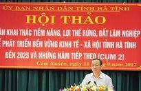 Hà Tĩnh: Đưa giá trị sản phẩm lâm nghiệp lên 7.500 tỷ vào 2025