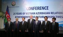 Bạn bè Việt Nam – Azerbaijan hội ngộ tại Hà Nội