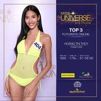 Hoàng Thùy giành chiến thắng giải thưởng 'Futurista – Universe Online'