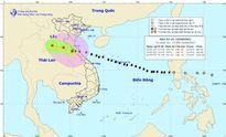 Bão số 10: Các tỉnh từ Quảng Trị đến Thanh Hóa có mưa to đến rất to