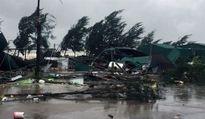Một người chết, hơn 200 nhà tốc mái ở Nghệ An do bão số 10