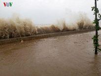 Mưa hoàn lưu bão số 10 làm 1 người chết ở Thanh Hóa