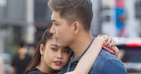 Phớt lờ tin đồn ly hôn, Tim – Trương Quỳnh Anh ôm hôn tình tứ trên đường phố Hàn Quốc