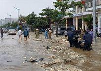 Nhiều thôn bản ở Thanh Hóa bị cô lập sau bão
