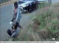Cô gái chống trả cướp quyết liệt vì sợ mất luận văn thạc sĩ