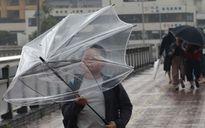 Siêu bão Talim đổ bộ Nhật Bản, hàng chục nghìn người sơ tán trong mưa