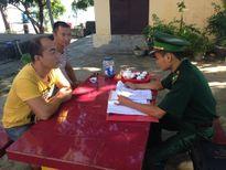 Xử phạt hai người Trung Quốc vào khu vực biên giới trái phép