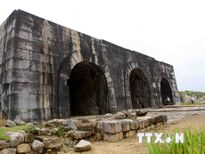 Thanh Hóa: Một đoạn tường Thành nhà Hồ bị sạt lở sau bão số 10