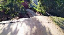 Yên Bái: Tuyến đường 174 sạt lở, huyện Trạm Tấu bị cô lập hoàn toàn