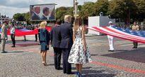 Mỹ tính học Pháp tổ chức duyệt binh mừng Quốc khánh