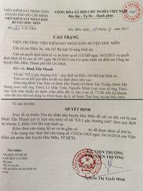 TP HCM: Bị khởi tố vì ngăn anh trai phá hoại tài sản và hành hung cha?