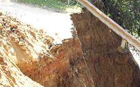 Yên Bái khắc phục sụt lún, thông đường đi Trạm Tấu