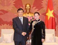 Chủ tịch Quốc hội tiếp Ủy viên Thường vụ Bộ Chính trị Trung Quốc