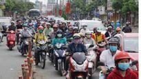 Cấm xe lưu thông đường Bùi Đình Túy, quận Bình Thạnh