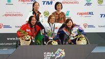ASEAN Para Games 9: Các kình ngư Việt Nam rực sáng trên đường đua xanh