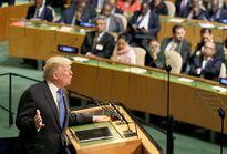 Biểu cảm của những người có mặt khi ông Trump phát biểu 'hủy diệt' Triều Tiên