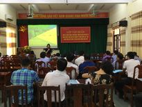 Vĩnh Phúc: Khai giảng lớp bồi dưỡng kiến thức quản lý Nhà nước về xây dựng và phát triển đô thị