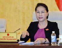 Chủ tịch Quốc hội: 'Tập trung kiểm soát tài sản về 1 đầu mối cần cân nhắc'