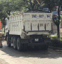 """CSGT Hà Nội """"giăng lưới"""" bắt xe tải hạng nặng"""