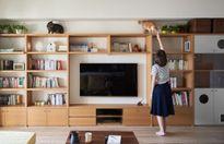 Mẫu nội thất ngôi nhà vintage cho những người yêu mèo