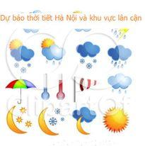 Dự báo thời tiết đêm 20 ngày 21/9/2017 khu vực Hà Nội và các vùng lân cận