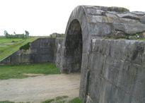 Di sản Thành nhà Hồ bị đổ tường sau mưa bão