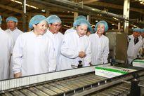 Chủ tịch quốc hội đến thăm nhà máy sữa Vinamilk