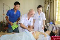 Cứu sống sản phụ bị vỡ tử cung, trụy mạch, mất máu nặng sau đẻ